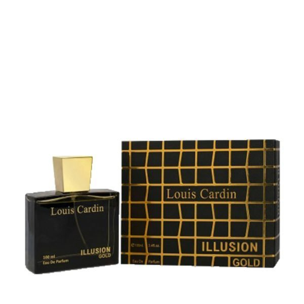 "Louis Cardin ""Illusion Gold"" For Women 100ml"