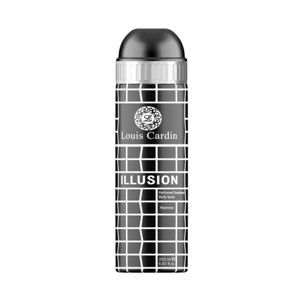 Louis Cardin Illusion Deo Spray 200ml